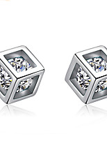 Earring GeometricJewelry 1 pair Sexy / Personality / Adorable Silver Plated SilverWedding / Party / Daily