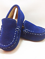 Unisex Flats Spring / Summer / Fall / Winter Mary Jane Leather Casual Flat Heel