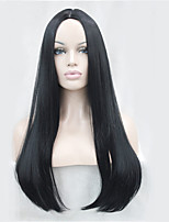 Long Straight Wigs with Skin Part Top Quality Synthetic Hair Wigs for Women COLOUR CHOICES