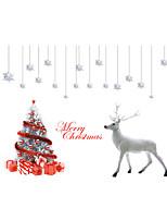 Животные / ботанический / Рождество Наклейки Простые наклейки Декоративные наклейки на стены / Линейка роста,PVC материалВлажная чистка /