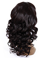 14-18inch Braizlian virgin remy human hair new big wave glueless lace front wigs for African Americans