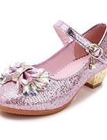 Flache Schuhe-Hochzeit Kleid Lässig Party & Festivität-Kunststoff-Flacher Absatz-Komfort Light Up Schuhe-Blau Rosa Gold