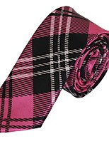 Classic Men Polyester Silk Leisure Tie Necktie Jacquard