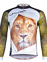 Ilpaladin Sport Men Long Sleeve Cycling Jerseys  CX706 The Lion