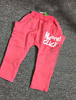 Boy's Casual/Daily Solid PantsCotton Winter / Fall Pink / Gray