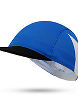 Cycling Cap Hat Bike Breathable Sunscreen Unisex Blue Terylene