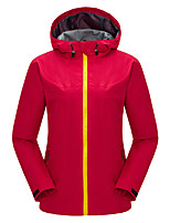 Hiking Softshell Jacket Unisex Waterproof / Wearable / Windproof Spring / Fall/Autumn / Winter TactelRed /