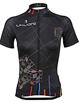 PALADIN® Cycling Jersey Women's Short SleeveBreathable / Quick Dry / Ultraviolet Resistant / Compression / Lightweight Materials /