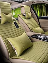 четыре новых фиолетовый колокольчики лен подушки сиденья автомобиля бесплатно в комплекте простой интерьер продукты ZFL-H16