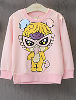 Girl's Casual/Daily Print BlouseCotton Spring / Fall Pink