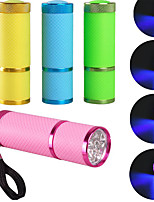 Nail Dryer Mini LED Flashlight UV Lamp Portable For Nail Gel Fast Dryer Cure Choose
