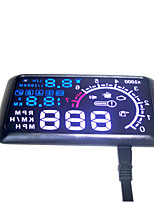 Car HUD Head UP 5.5 LCD Display OBD ii Car Styling Car Kit fuel Overspeed KM/H