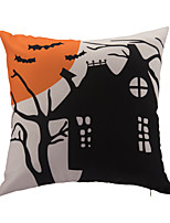 1 pcs Polyester Halloween Accent/Decorative Pillow With Insert 18x18 inch