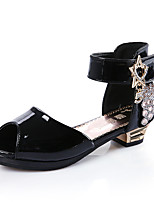 Sandals Summer Novelty Light Up Shoes Leatherette Casual Chunky Heel Others Black Red White Other