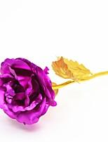 Dia Dos Namorados Party Favors & Gifts-1Peça/Conjunto Flor Artificial Marcador Metal Tema  Jardim Other Não-PersonalizadoDourada /