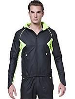 Sportif Veste avec Pantalon de Cyclisme Unisexe Manches longues Vélo Etanche / Respirable / Pare-ventSurvêtement / Ensemble de