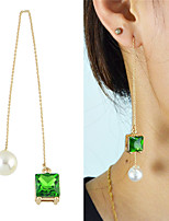 Earring Geometric Jewelry Women Fashion / Adorable Party / Daily Pearl / Alloy 1pc Gold KAYSHINE