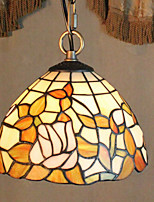 25W Pendant Light   Vintage / Country Painting Feature for Mini Style Metal Bedroom / Entry