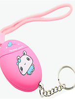 SOS Anti-Attack Egg Shape Safety Personal Anti-Defense Alarm System Protection Keychain Female Anti Wolf Device