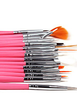 15pcs/set  Nail Art UV Gel Painting Drawing Liner PensDIY Design Nail Decoration Tools