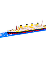 Large Titanic Ship Model Building Kits Plastic Assembly Mini Bricks Minifigures Education Toys Grownups Gifts