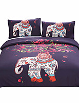 BeddingOutlet Boho Bedding Elephant Tree Black Printed Bohemia Duvet Cover Set Bedspread Twin Full Queen King Factory