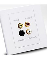 Belaunde Cabeada Others Multi-function wall socket Branco