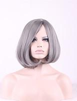 серый Плутон Парики Pelo натуральных волос Парик Парик женщин синтетические парики короткие парики для чернокожих женщин синтетические