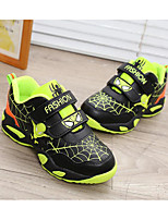 Unisex Sneakers Spring / Fall Comfort PU Outdoor / Athletic / Casual Flat Heel Others Blue / Green / Red Running