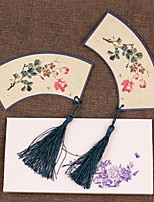 Chinese Style Complex Classical Antiquity Aesthetic Shaped Bookmark Gifts Fringed Student Prizes