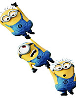 Cute Cartoon Funny Adorkable Minions Car Sticker Car Scratch Reflective Stickers