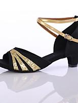 Для женщин-Блестки Синтетика-Персонализируемая() -Танцевальные кроссовки