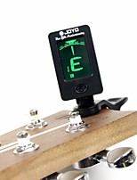 Guitar  Tuner Afinador Mini LCD Clip-on 360 Degree Rotatable Clip Tuner for Chromatic Guitar  Violin Ukulele