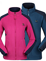 Hiking Softshell Jacket Unisex Breathable / Thermal / Warm / Wearable / Sweat-wicking Spring / Fall/Autumn / Winter