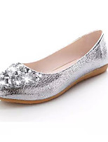 Women's Flats Spring / Summer / Fall Comfort Fabric / Leatherette Outdoor / Casual Flat Heel Sparkling Glitter