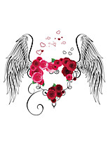 Wall Stickers Wall Decals Style Creative Romantic Peace of Mind Angel PVC Wall Stickers