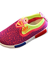 Unisex Sneakers Spring / Fall Comfort PU Casual Flat Heel Slip-on Blue / Red Sneaker