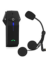 FreedConn Intercom Motorcycle Interphone NFC Bluetooth Helmet Headset 3 Riders1000M with Remote Control FM Radio