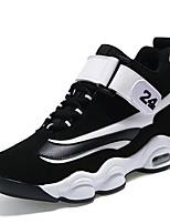 Unisex-Sneaker-Lässig-Stoff-Flacher Absatz-Komfort-Schwarz Rot