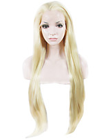 IMSTYLE On Sale 30 Blonde Smooth Straight Synthetic Lace Front Wigs