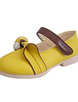 Желтый Розовый Белый-Для девочек-Повседневный-Полиуретан-На плоской подошвеМокасины и Свитер