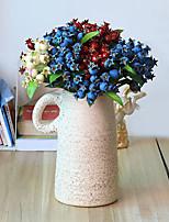 Hi-Q 1Pc Decorative Flower Pomegranate Fruit Wedding Home Table Decoration Artificial Flowers