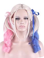 косплей парик немного некрасиво градиента двойной конский волос парик 26 дюймов