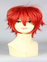 High Temperature Silk Red Anime Hair Fashion In Europe And America Speed Sell Tong Cos Wig Sell Like Hot Cakes