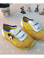 Per bambino-Sneakers-Tempo libero-Chiusa-Piatto-Tulle-Giallo / Verde / Viola