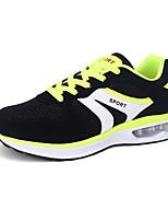 Masculino-Tênis-Conforto / Arrendondado-Rasteiro-Azul / Verde / Preto e Branco-Couro Ecológico-Ar-Livre