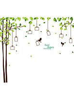 Животные / ботанический / Рождество Наклейки Простые наклейки Декоративные наклейки на стены,PVC материалВлажная чистка / Съемная /