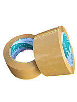 Two Yellow Sealing 6.0CM * 1.7CM Tapes Per Pack