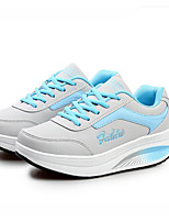 Women's Athletic Shoes Spring / Summer / Fall Flats PU Outdoor / Athletic Flat Heel Lace-up