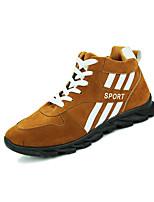 Men's Sneakers Spring / Fall Comfort Fabric Casual Flat Heel  Blue / Khaki Sneaker